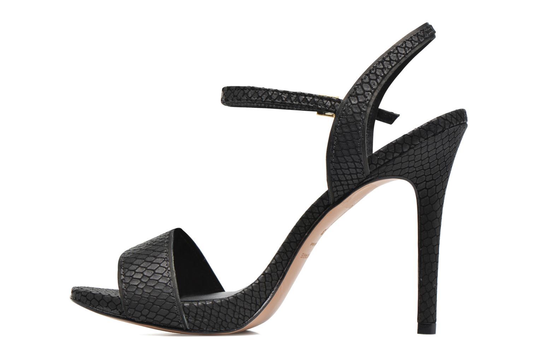 Sandales et nu-pieds COSMOPARIS Jadia/Pyt Noir vue face