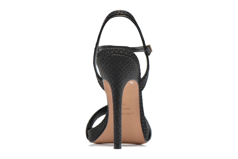 Sandales et nu-pieds COSMOPARIS Jadia/Pyt Noir vue droite