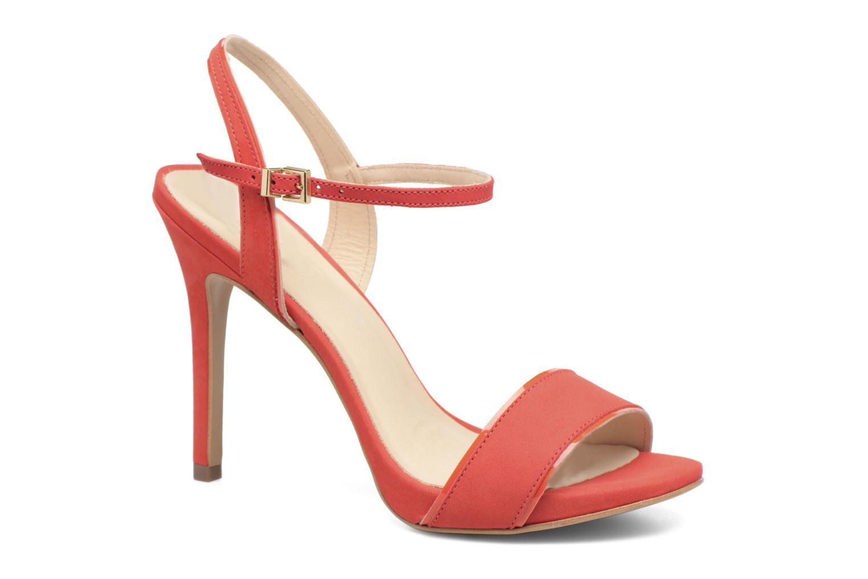 COSMOPARIS Jadia/Nub (Rouge) - Sandales et nu-pieds chez Sarenza (294527)