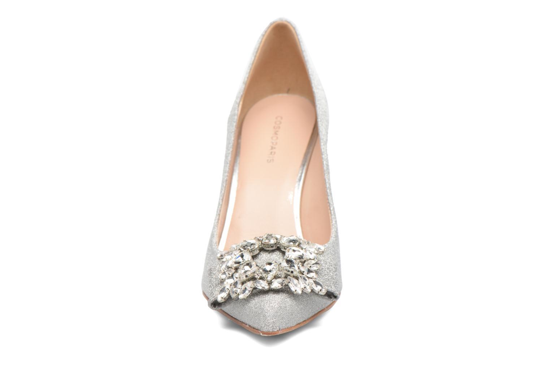 Escarpins COSMOPARIS Manifika/Diam Argent vue portées chaussures