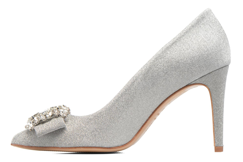 Zapatos de tacón COSMOPARIS Manifika/Diam Plateado vista de frente
