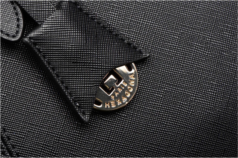 Sacs à main Hexagona Confidence Cabas Noir vue gauche