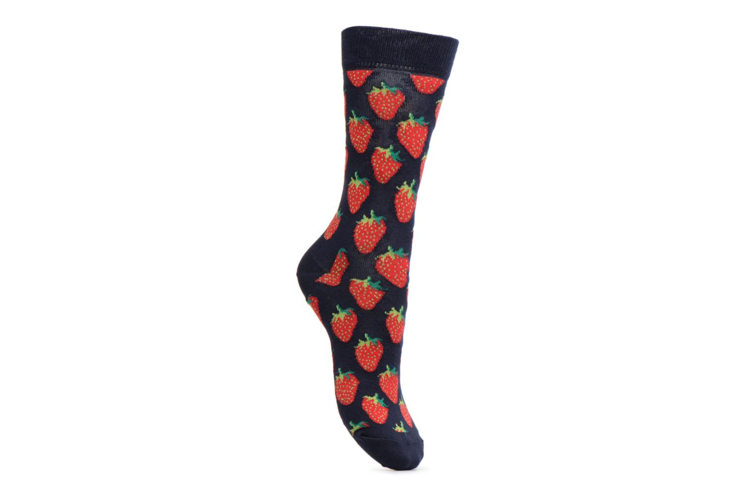Socks & tights Happy Socks Chaussettes Cherry Blue detailed view/ Pair view