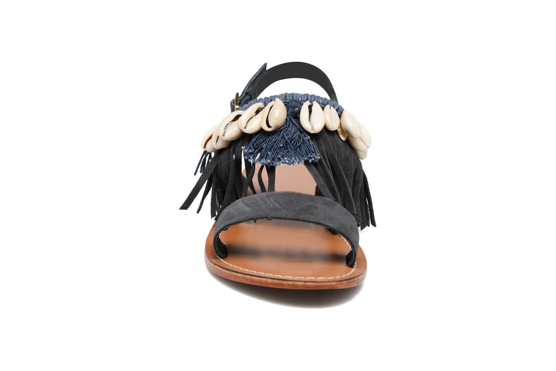 Sandali e scarpe aperte L'Atelier Tropézien Shoshana Azzurro modello indossato
