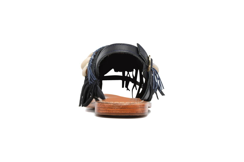 Sandali e scarpe aperte L'Atelier Tropézien Shoshana Azzurro immagine destra