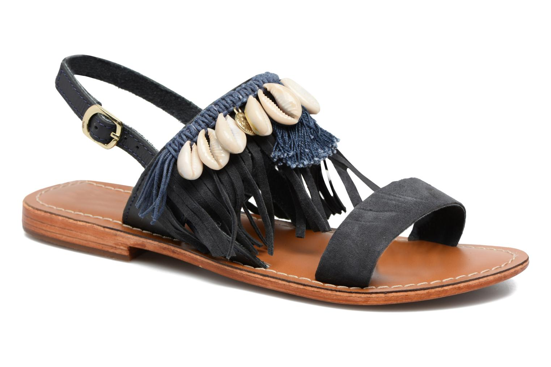 Sandali e scarpe aperte L'Atelier Tropézien Shoshana Azzurro vedi dettaglio/paio