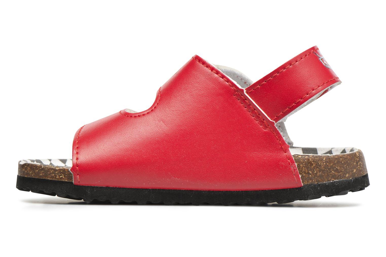 Sandales et nu-pieds Cars Nino Cars Rouge vue face