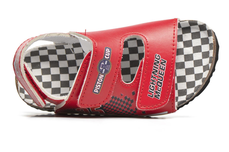 Sandales et nu-pieds Cars Nino Cars Rouge vue gauche