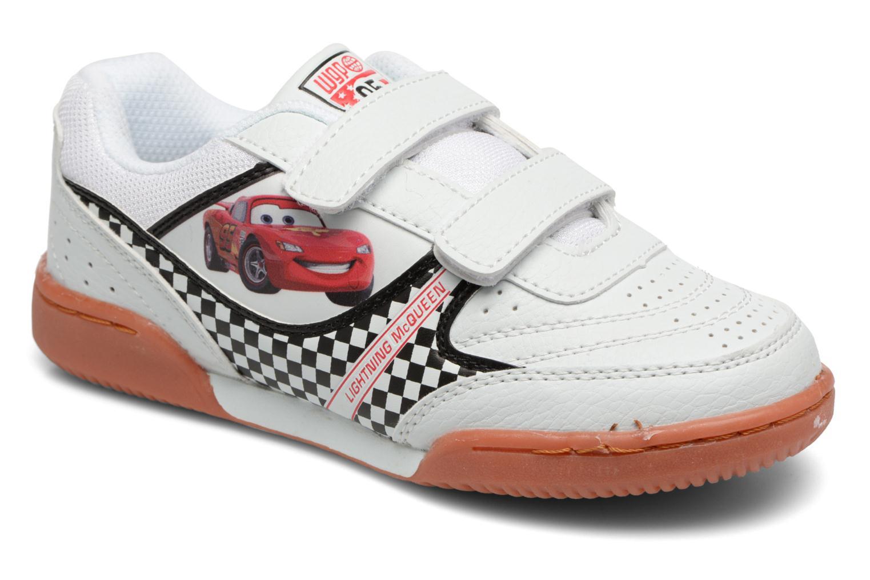 Baskets Cars Rev Cars Blanc vue détail/paire