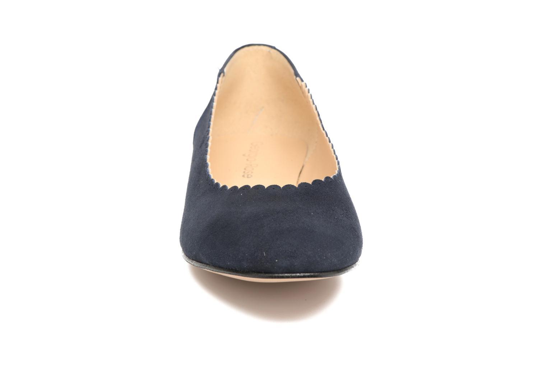 Ballerines Georgia Rose Sanfeston Bleu vue portées chaussures