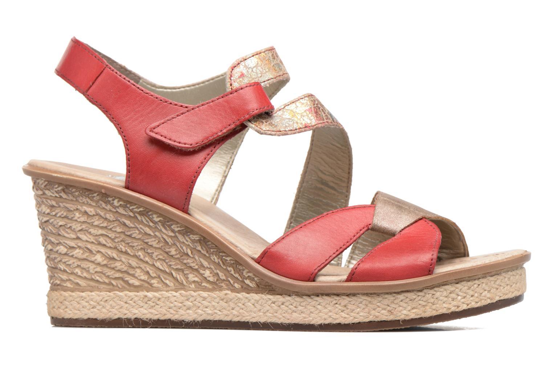 Sandales et nu-pieds Rieker Ronja 67523 Rouge vue derrière