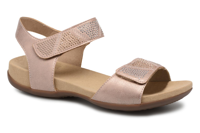Zapatos promocionales Rieker Olaf K2269 (Rosa) - Sandalias   Venta de liquidación de temporada