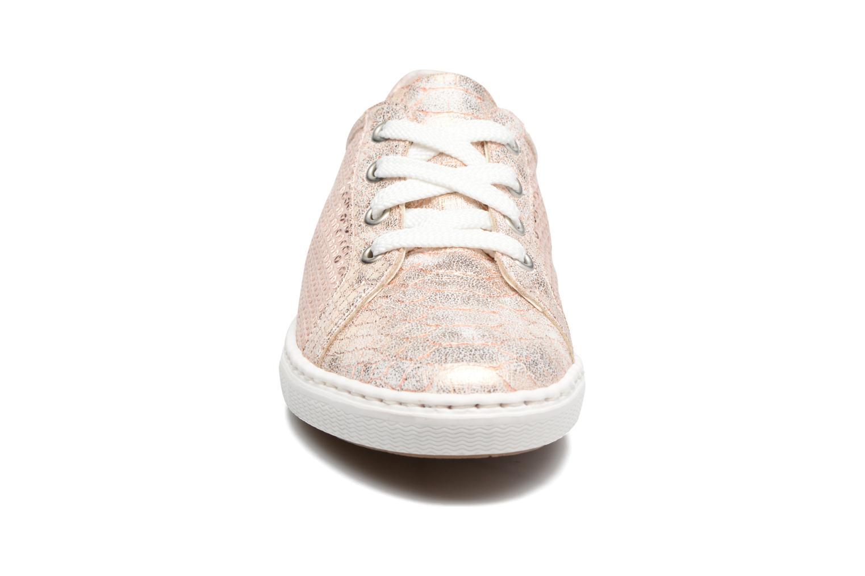 Baskets Rieker Light 0900 Rose vue portées chaussures