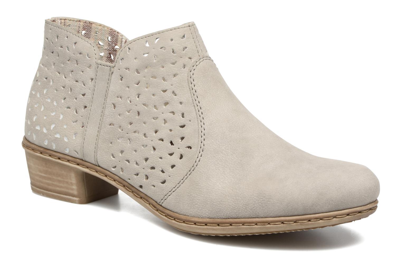 Bottines et boots Rieker Marla 0785 Gris vue détail/paire