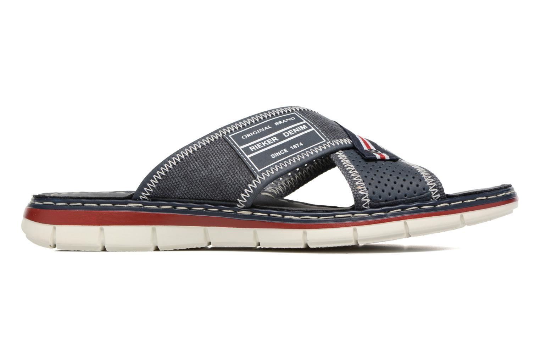 Sandales et nu-pieds Rieker Arjen 25163 Bleu vue derrière