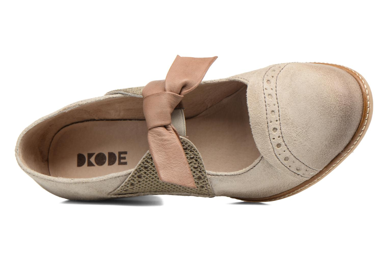 High heels Dkode Valeria Beige view from the left