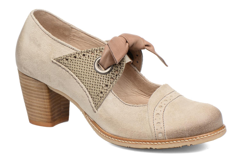 High heels Dkode Valeria Beige detailed view/ Pair view