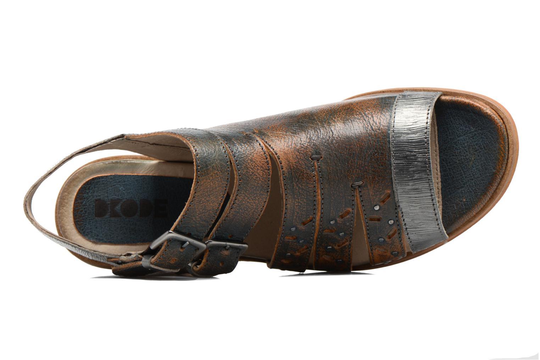 Sandaler Dkode Genna Blå se fra venstre
