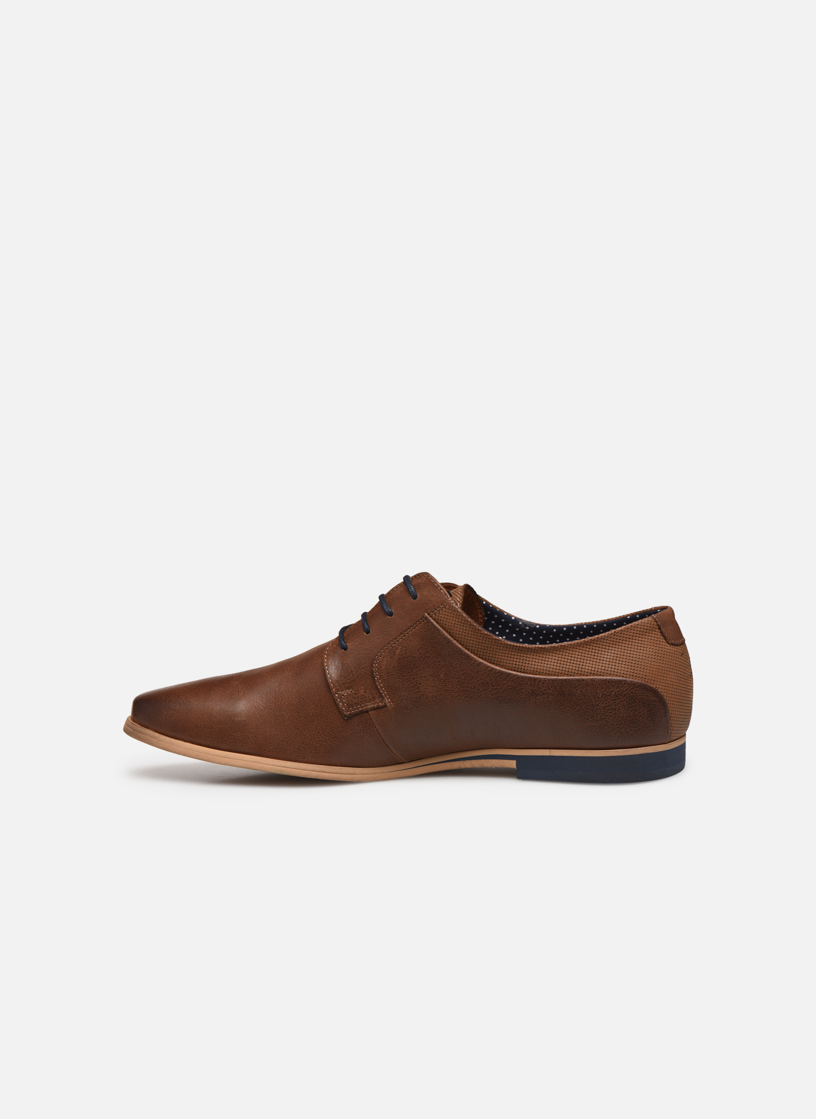 Lace-up shoes Kost Epia3 Brown front view
