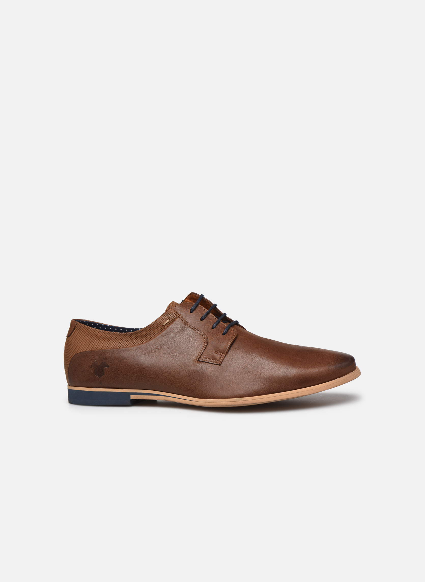 Lace-up shoes Kost Epia3 Brown back view
