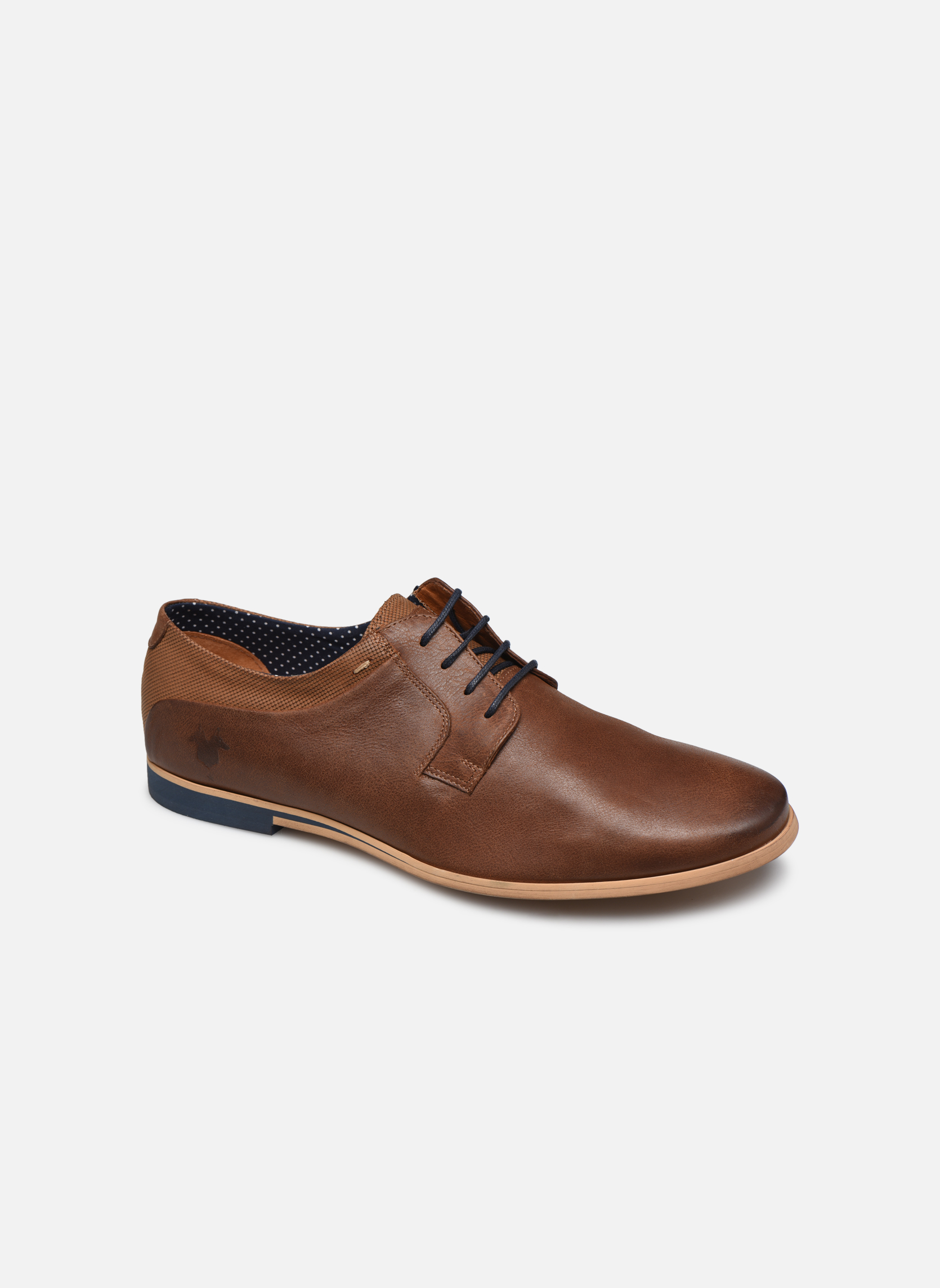 Lace-up shoes Kost Epia3 Brown detailed view/ Pair view