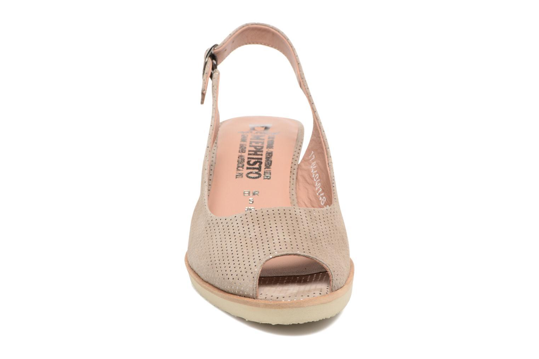 Escarpins Mephisto Salvina Beige vue portées chaussures