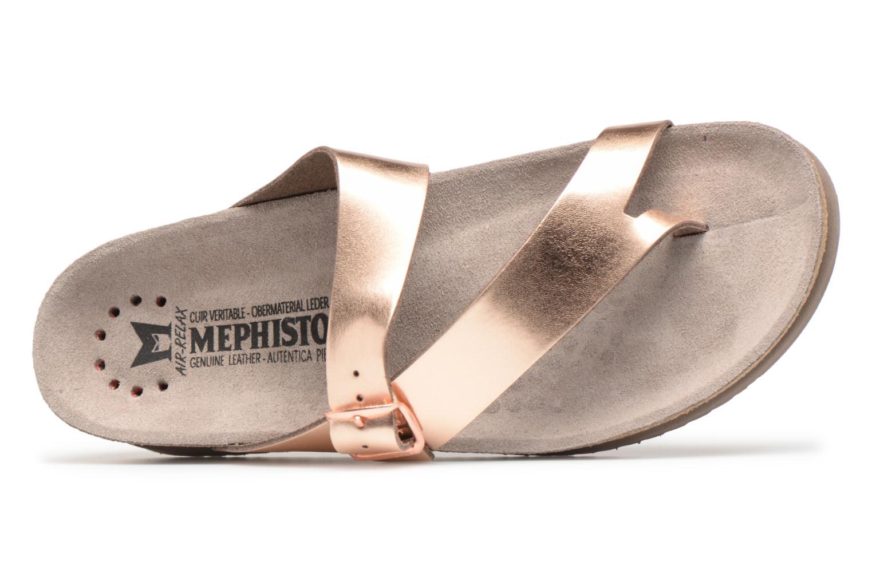 Sandali e scarpe aperte Mephisto Helen Oro e bronzo immagine sinistra