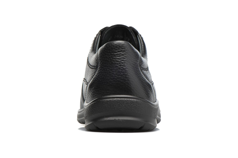 Chaussures à lacets Mephisto Ezard Noir vue droite