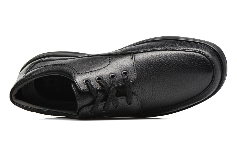 Chaussures à lacets Mephisto Ezard Noir vue gauche