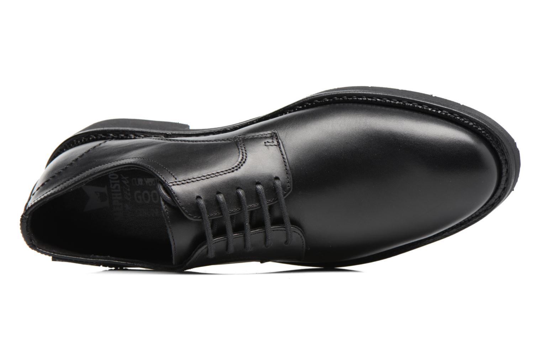 Chaussures à lacets Mephisto Taylor Noir vue gauche