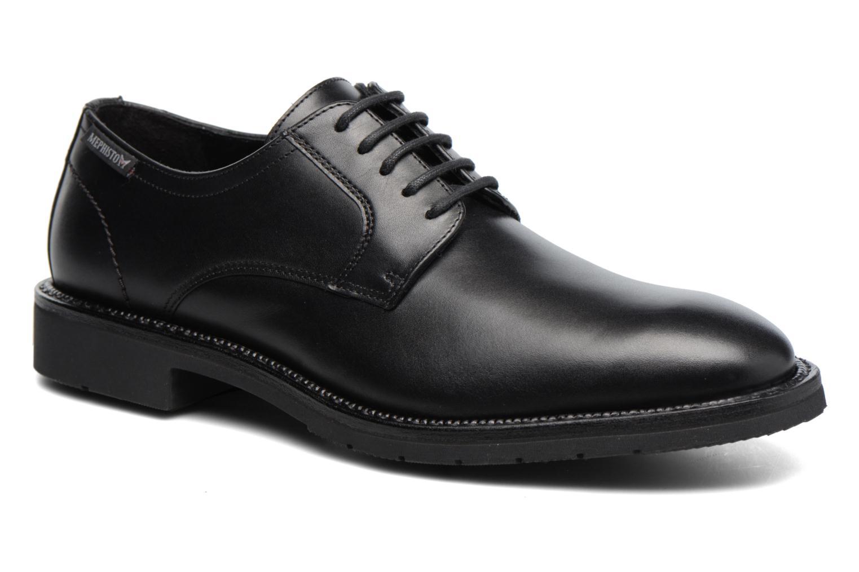 Chaussures à lacets Mephisto Taylor Noir vue détail/paire
