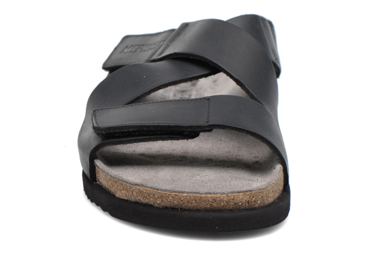 Sandales et nu-pieds Mephisto Nadeo Noir vue portées chaussures