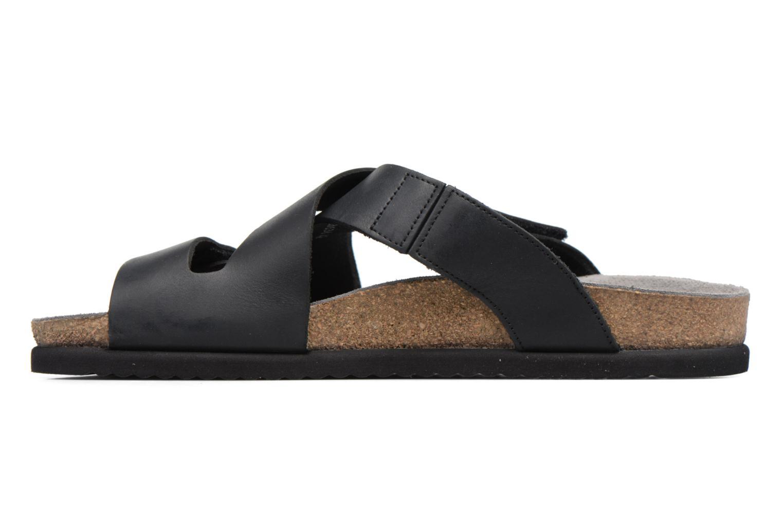 Sandales et nu-pieds Mephisto Nadeo Noir vue face
