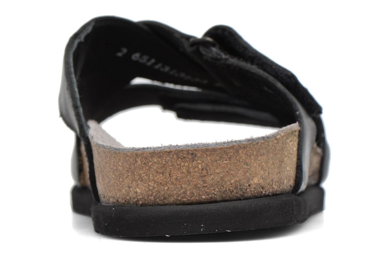 Sandales et nu-pieds Mephisto Nadeo Noir vue droite