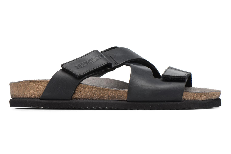 Sandales et nu-pieds Mephisto Nadeo Noir vue derrière
