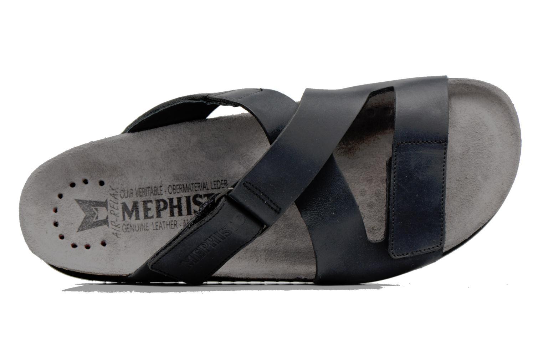 Sandales et nu-pieds Mephisto Nadeo Noir vue gauche