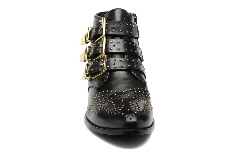 Bottines et boots Bronx Brezax Noir vue portées chaussures