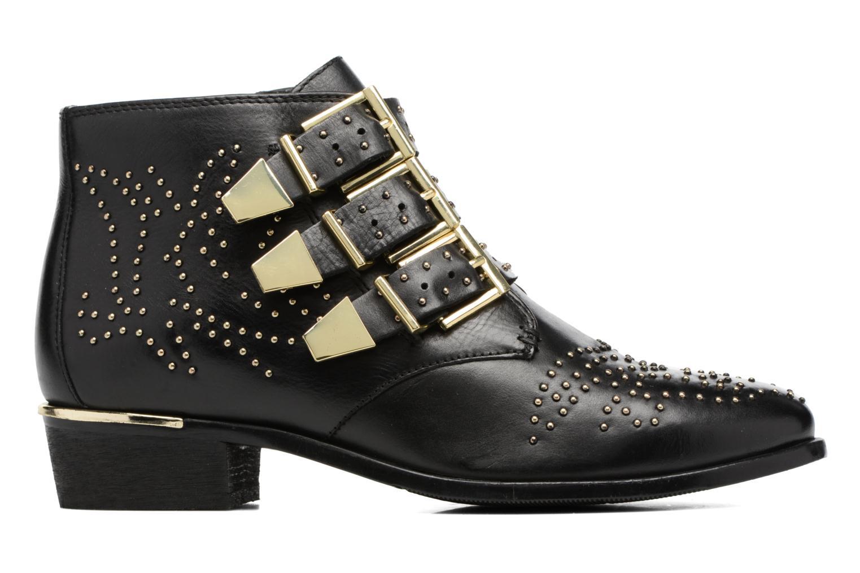 Bottines et boots Bronx Brezax Noir vue derrière