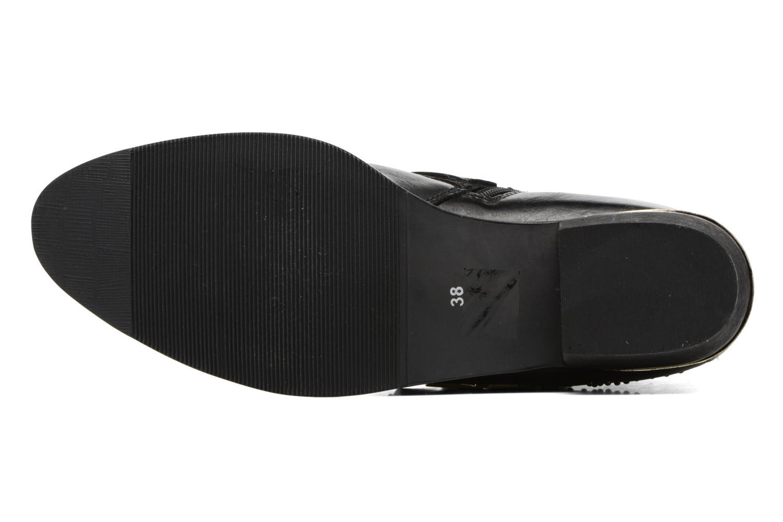 Bottines et boots Bronx Brezax Noir vue haut