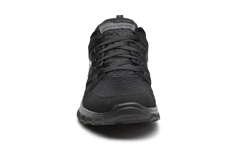 Scarpe sportive Skechers Flex Appeal Adaptable Nero modello indossato