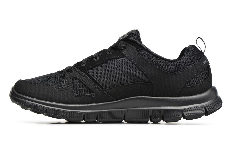 Chaussures de sport Skechers Flex Appeal Adaptable Noir vue face