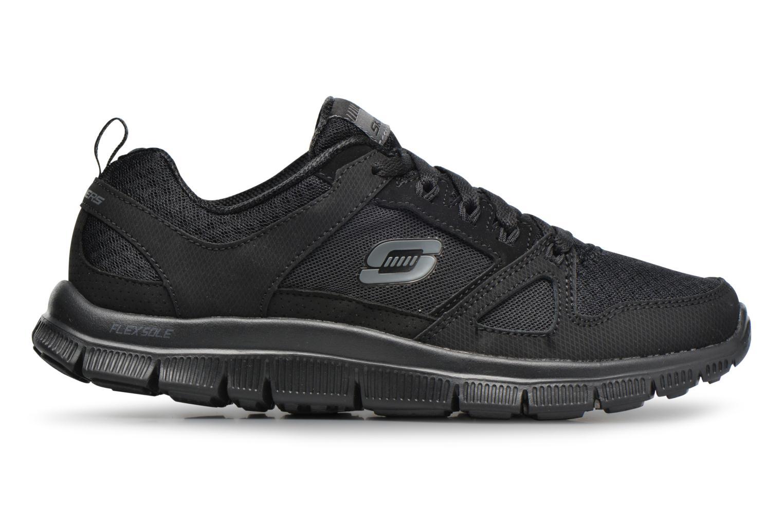 Chaussures de sport Skechers Flex Appeal Adaptable Noir vue derrière