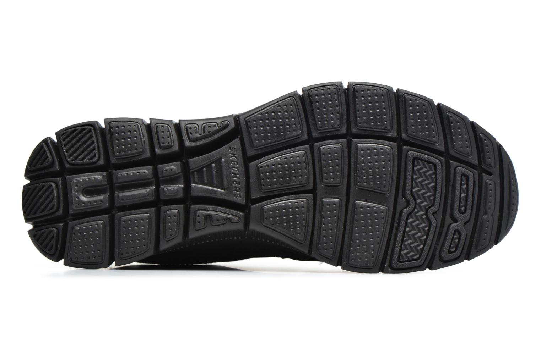 Chaussures de sport Skechers Flex Appeal Adaptable Noir vue haut