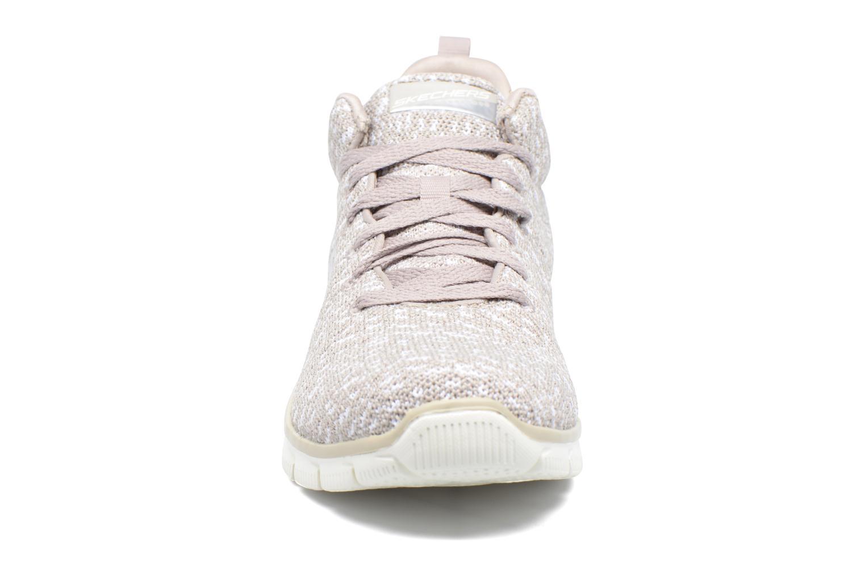 Chaussures de sport Skechers Empire Connections Gris vue portées chaussures