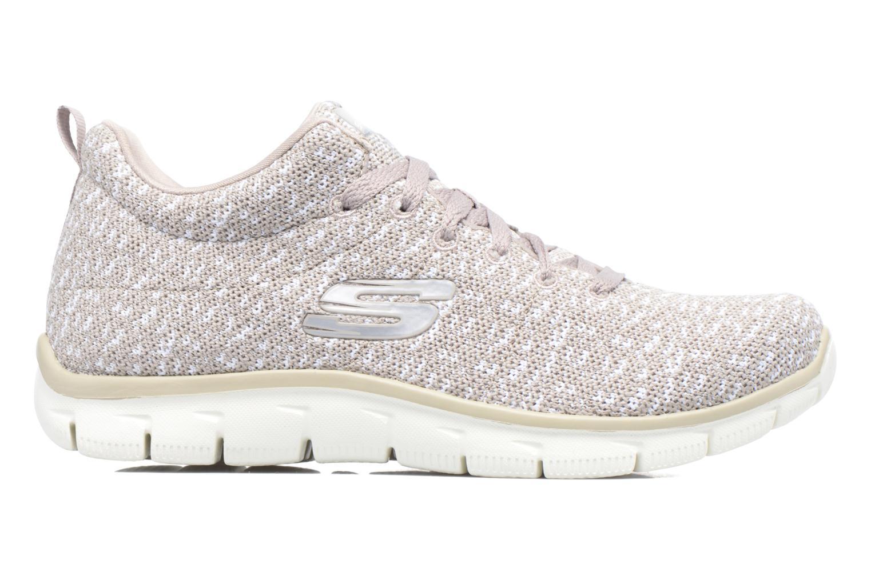 Chaussures de sport Skechers Empire Connections Gris vue derrière