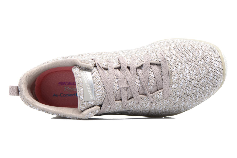 Chaussures de sport Skechers Empire Connections Gris vue gauche