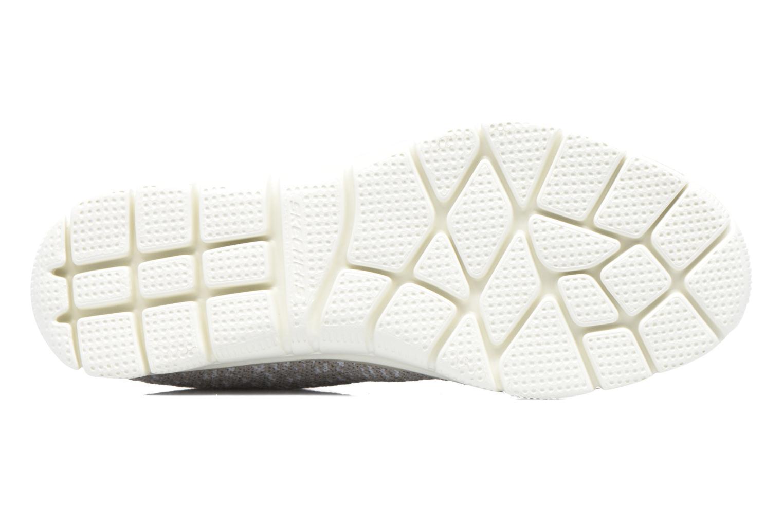 Chaussures de sport Skechers Empire Connections Gris vue haut