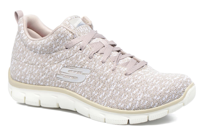 Chaussures de sport Skechers Empire Connections Gris vue détail/paire