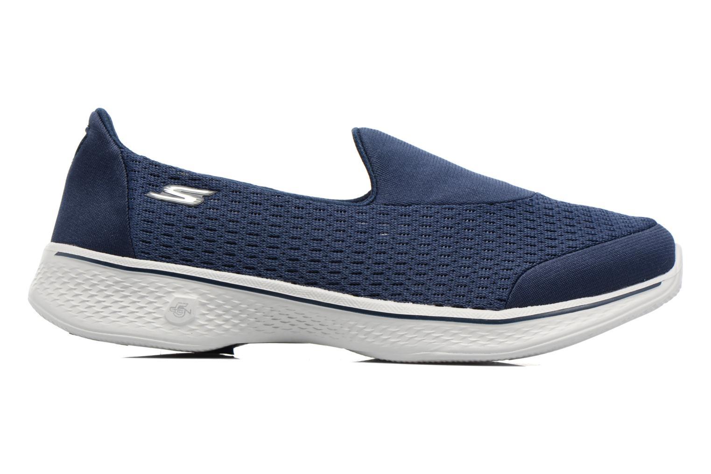 Baskets Skechers GO Walk 4 Pursuit Bleu vue derrière