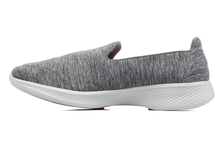 Scarpe sportive Skechers GO Walk 4 Achiever Grigio immagine frontale